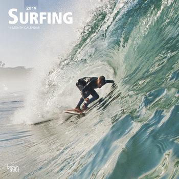 Calendário 2019  Surfing