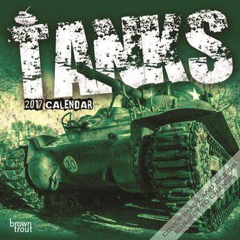 Calendário 2017 Tanks