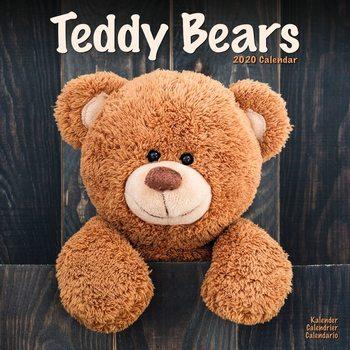 Calendário 2020  Teddy Bears