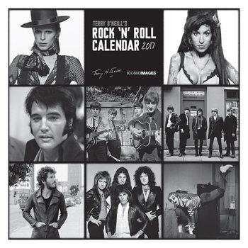Calendário 2017 Terry O'Neill's Rock 'n' Roll