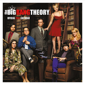 Calendário 2017 The Big Bang Theory