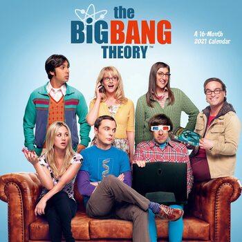 Calendário 2021 The Big Bang Theory