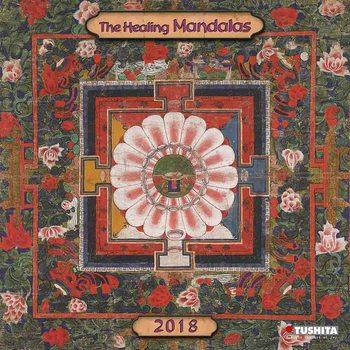Calendário 2018 The Healing Mandalas