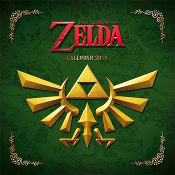 Calendário 2019  The Legend Of Zelda