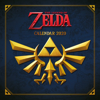 Calendário 2020  The Legend of Zelda