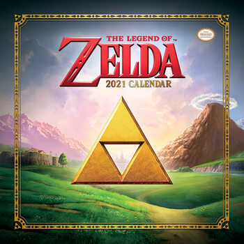 Calendário 2021 The Legend of Zelda