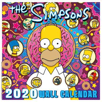 Calendário 2020  The Simpsons