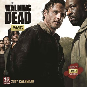 Calendário 2017 The Walking Dead