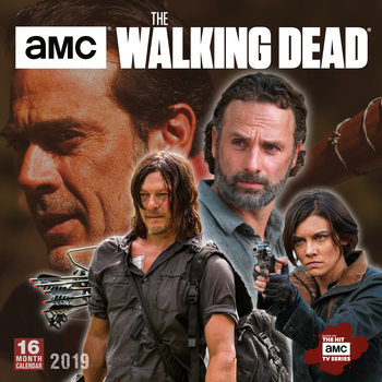 Calendário 2019  The Walking Dead