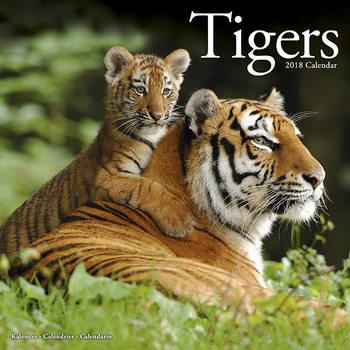 Calendário 2018 Tigers