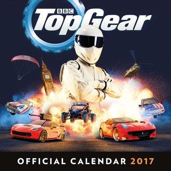 Calendário 2017 Top Gear