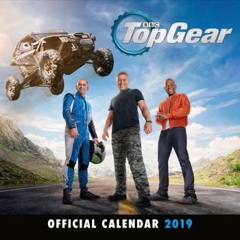 Calendário 2019  Top Gear