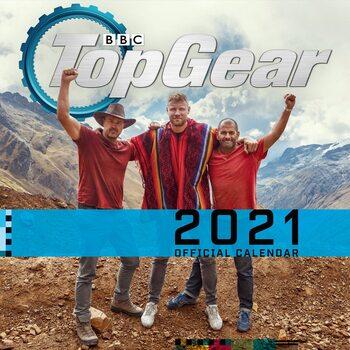 Calendário 2021 Top Gear