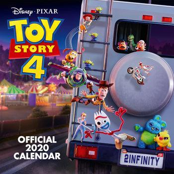 Calendário 2020  Toy Story 4