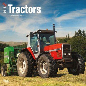 Calendário 2017 Tractors