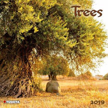 Calendário 2019  Trees