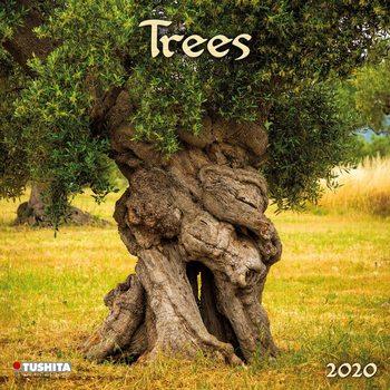 Calendário 2020  Trees