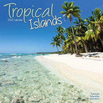Calendário 2018 Tropical Islands