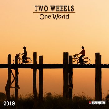 Calendário 2019  TWO wheels - ONE world