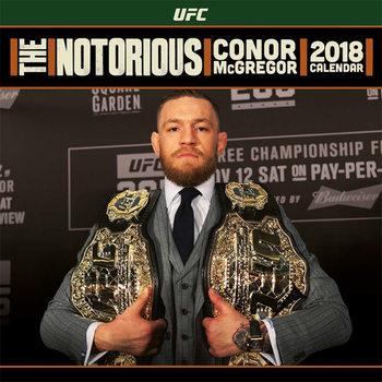 Calendário 2018 UFC: Conor McGregor