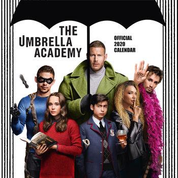 Calendário 2020  Umbrela Academy