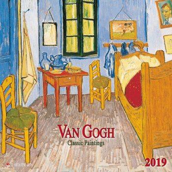Calendário 2019  van Gogh - Classic Works