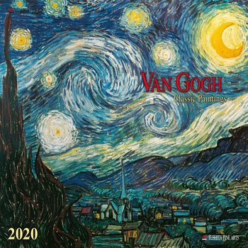 Calendário 2020  Van Gogh - Classic Works