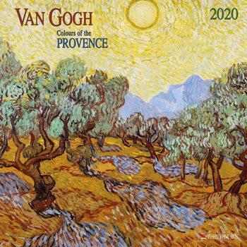 Calendário 2020  Van Gogh - Colours of the Provence