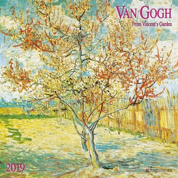 Calendário 2019  van Gogh - From Vincent´s Garden