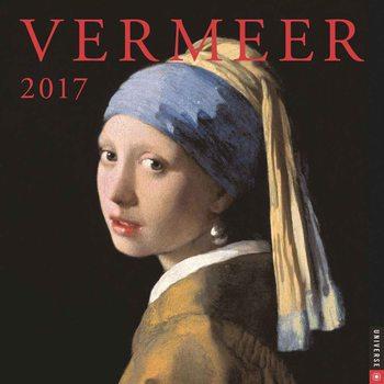 Calendário 2018  Vermeer
