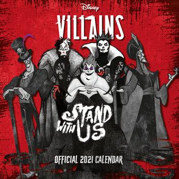 Calendário 2021 Villains