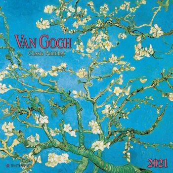 Calendário 2021 Vincent van Gogh - Classic Paintings