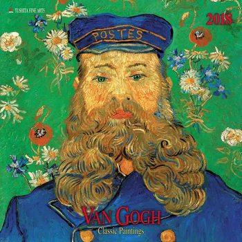 Calendário 2018  Vincent van Gogh - Classic Works