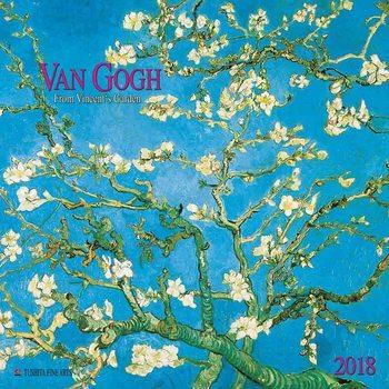 Calendário 2018 Vincent van Gogh - From Vincent's Garden