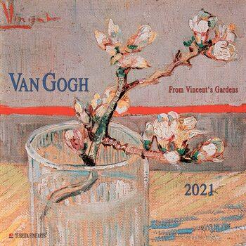 Calendário 2021 Vincent van Gogh - From Vincent's Garden