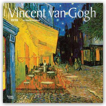 Calendário 2018 Vincent van Gogh