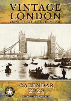 Calendário 2020  Vintage London