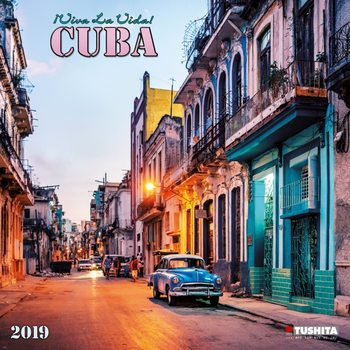 Calendário 2019  Viva la viva! Cuba
