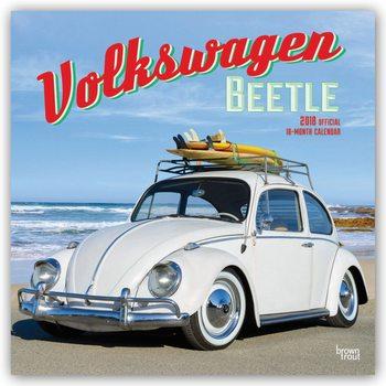 Calendário 2018 Volkswagen Beetle