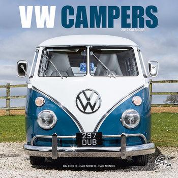 Calendário 2019  VW Camper Vans