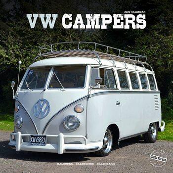 Calendário 2020  VW Camper Vans