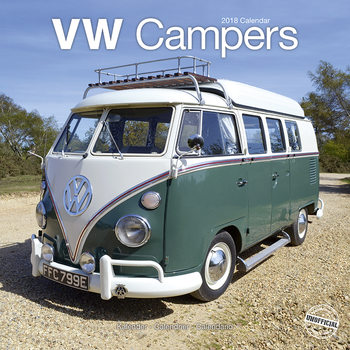 Calendário 2018 VW Campers