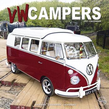 Calendário 2021 VW Campers