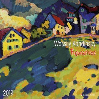 Calendário 2019  W. Kandinsky - Figuratives