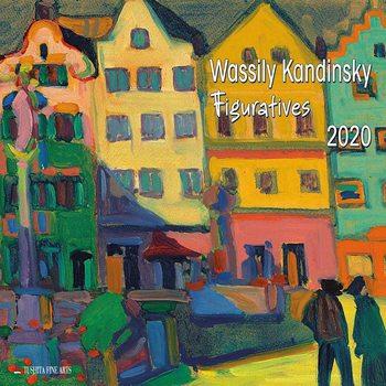 Calendário 2020  W. Kandinsky - Figuratives