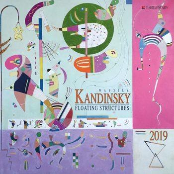 Calendário 2019  W.Kandinsky - Floating Structures