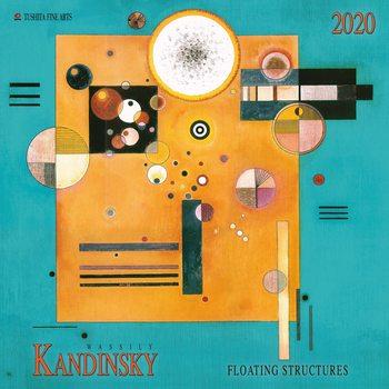 Calendário 2020  W.Kandinsky - Floating Structures