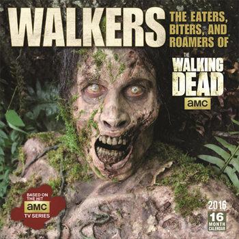 Calendário 2021 Walking Dead™ Eaters, Biters, Roamers, Walkers & Zombies