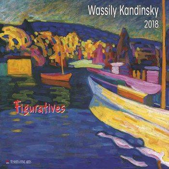 Calendário 2018  Wassily Kandinsky - Figuratives