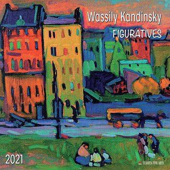 Calendário 2021 Wassily Kandinsky - Figuratives